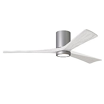 Brushed Nickel Fan Body finish / Matte White Blade finish / 60 size