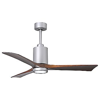 Shown in Brushed Nickel finish with light cap, 42 inch
