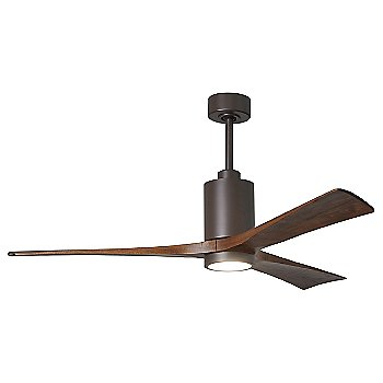 Shown in Textured Bronze finish without light cap, 60 inch