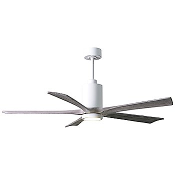 Barn Wood Fan Blade Finish / Matte Black finish / 42 Inch / illuminated