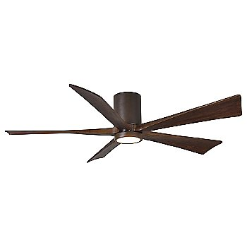 Textured Bronze finish with Walnut blades / 60 inch with light cap