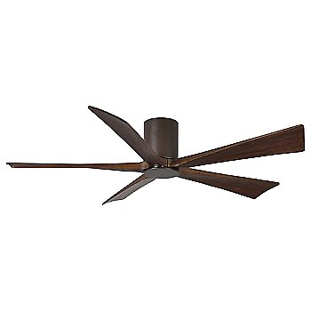 Textured Bronze finish with Walnut blades / 60 inch without light cap