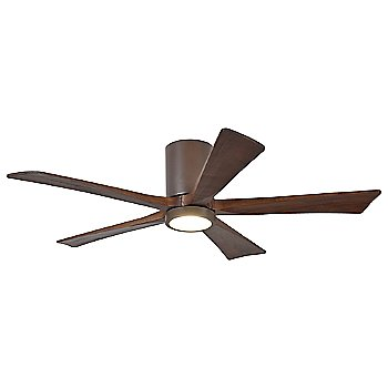 Textured Bronze finish with Walnut blades / 52 inch with light cap