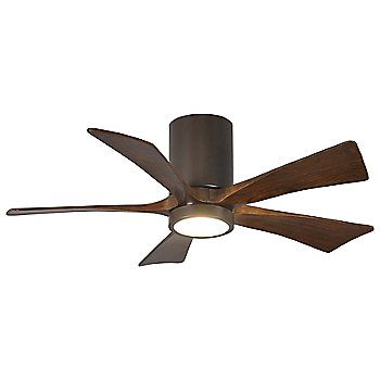 Textured Bronze finish with Walnut blades / 42 inch with light cap