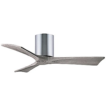 42 Inch / Polished Chrome finish with Barn Wood fan blades finish