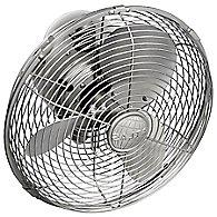 Kaye Oscillating Wall/Ceiling Fan (Brushed Nickel)-OPEN BOX