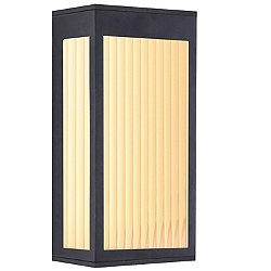 Avenue LED Outdoor Post Mount (Black/12 In)-OPEN BOX RETURN