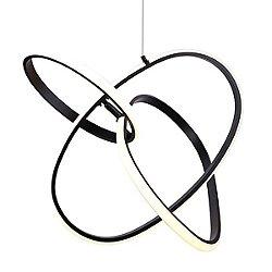 Circa LED Pendant by Avenue Lighting (Black)-OPEN BOX RETURN