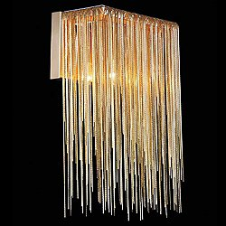 Fountain Ave Wall Sconce by Avenue (Gold) - OPEN BOX RETURN