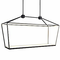 Park Ave LED Linear Suspension (Black) - OPEN BOX RETURN