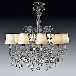 Venetian Miami 8 Arm Chandelier