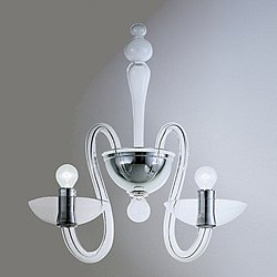 Venetian Medusa 2 Arm Wall Sconce
