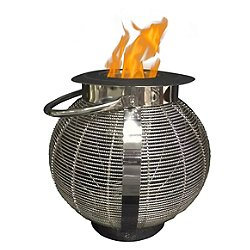 Jupiter 2 in 1 Tabletop Fireplace/Lantern