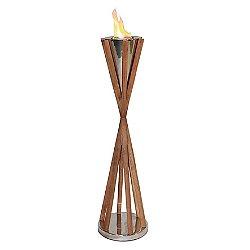 Southampton Teak Indoor/Outdoor Fireplace