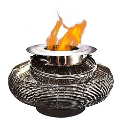 Mercury Tabletop Lantern Fireplace