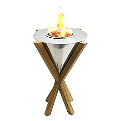 Southampton Teak Indoor/Outdoor Tabletop Fireplace