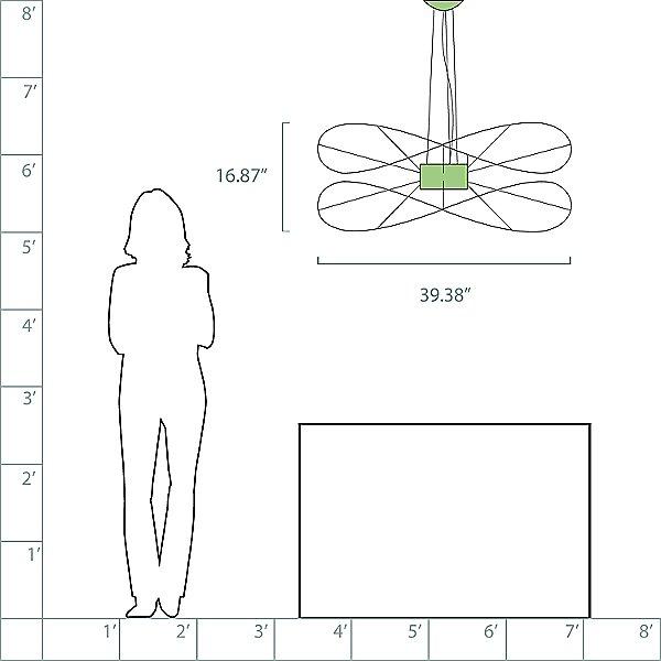 Hoops 2 LED Pendant Light
