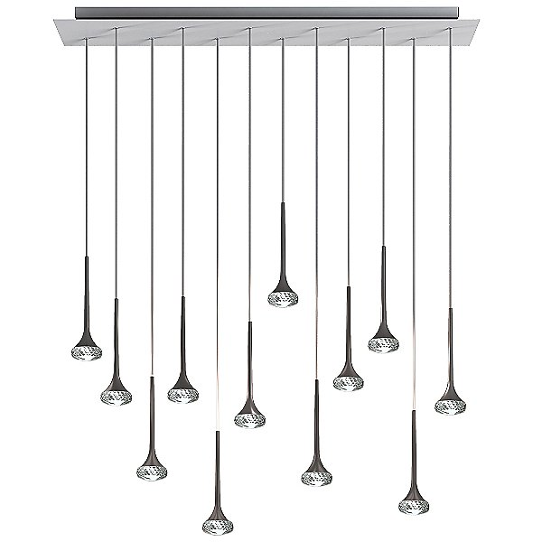 Fairy 12 Light Linear Cluster Pendant Light