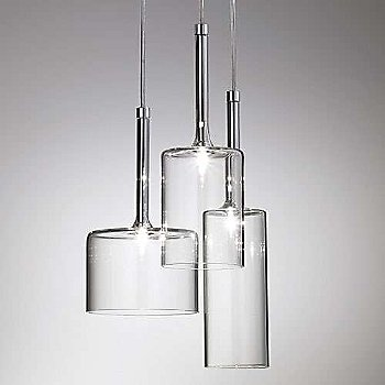 Crystal shade / Chrome finish / in use