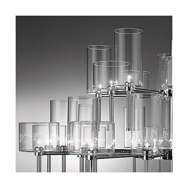 Spillray 30 glass chandelier