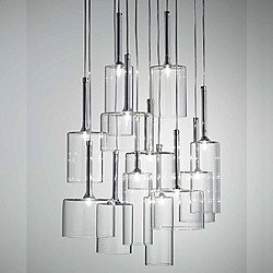 Spillray 12 Light Cluster LED Pendant Light