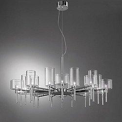 Spillray 20 Light LED Chandelier