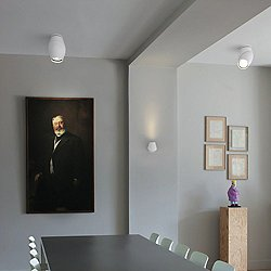 Vital Wall/Ceiling Light (White/Small) - OPEN BOX RETURN