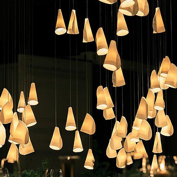 21 Cluster Round Multi-Light Pendant Light