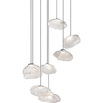 Rectangular canopy, illuminated