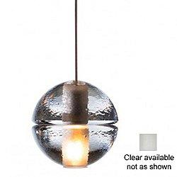 14.1 Single Pendant Light (Clear/LED) - OPEN BOX RETURN