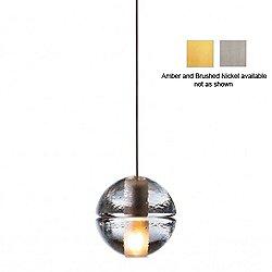 14.1 Single Pendant Light (Amber/LED) - OPEN BOX RETURN