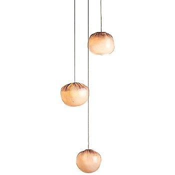 Copper finish / White glass