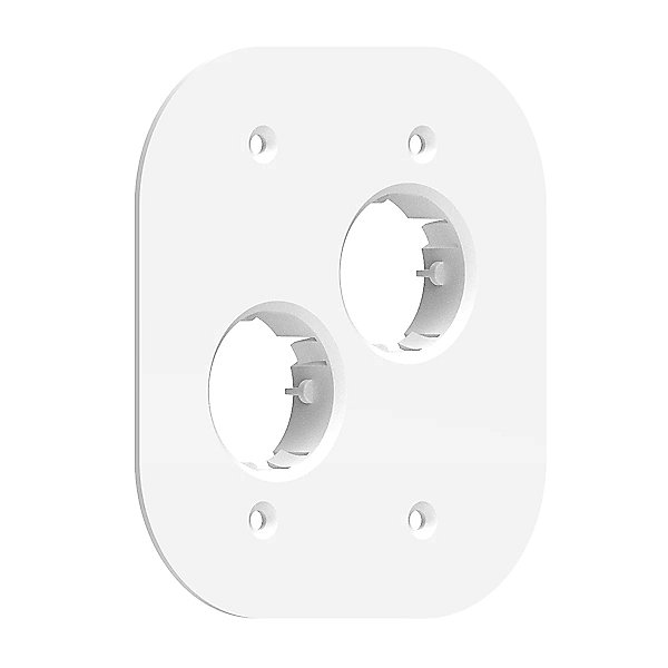 22.2.6 Double Gang Alternate Mounting Plate