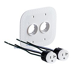 22.6.2 20A Drywall Outlet Assembly