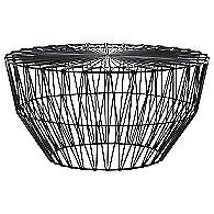 Drum Ottoman/Table