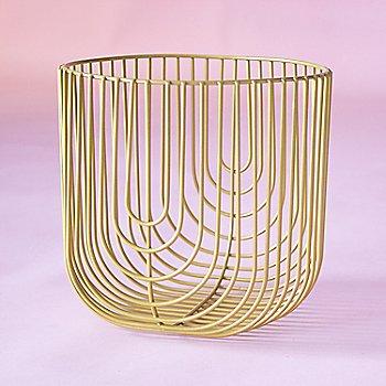 Gold finish