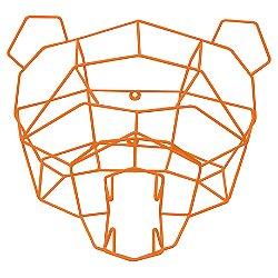 Polar Bear Geometric Animal Head