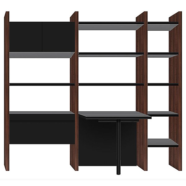 Semblance 3-Section with Peninsula Desk, 5413-PN, Office System