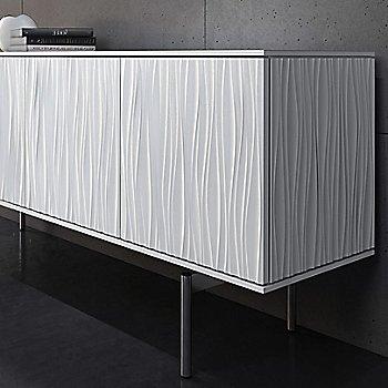 Large size / Smooth Satin White finish / Detail view
