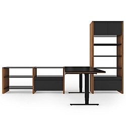Semblance 4-Section Office System, 5464-LD