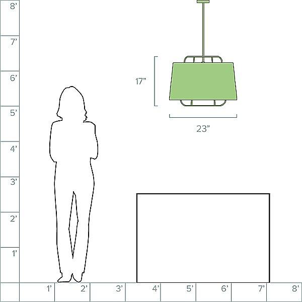 Perimeter Large Pendant Light