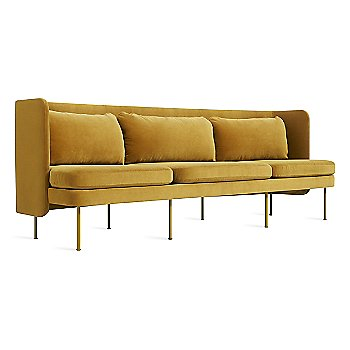 Ochre Velvet color / 95 Inch