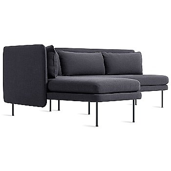 Rostenkowski Blue color / Chaise on Right Position