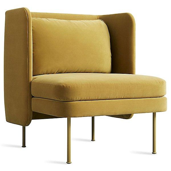 Bloke Velvet Lounge Chair