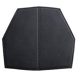 Real Good Seat Pad(Black Leather/Stool Pad)- OPEN BOX RETURN