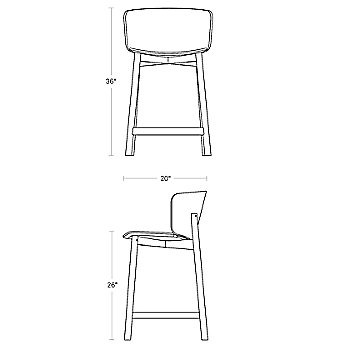 Counter Stool Option