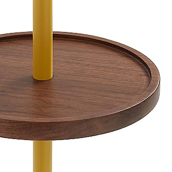 Mustard with Walnut color, detail
