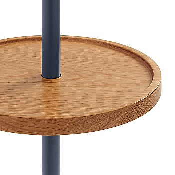 Navy with White Oak color, detail