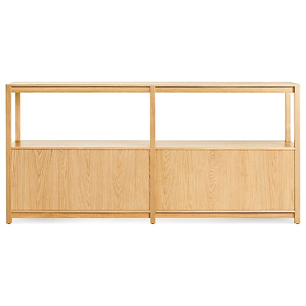 Open Plan Large Low Bookcase