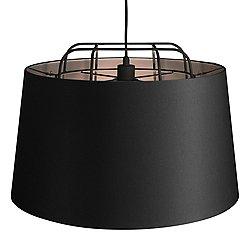 Perimeter Large Pendant by Blu Dot (Black) - OPEN BOX RETURN